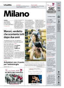 la Repubblica Milano - 19 Giugno 2018