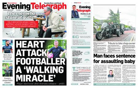 Evening Telegraph First Edition – August 08, 2019