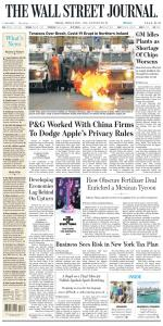 The Wall Street Journal - 9 April 2021
