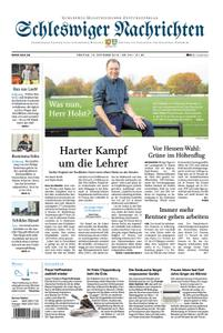 Schleswiger Nachrichten - 19. Oktober 2018