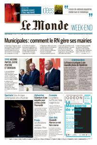 Le Monde du Samedi 7 Mars 2020