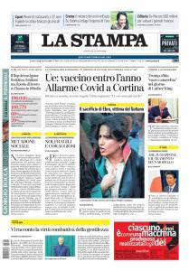 La Stampa Torino Provincia e Canavese - 29 Agosto 2020