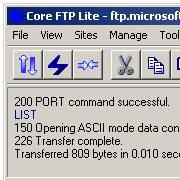 Core FTP 2.1 Build 1596