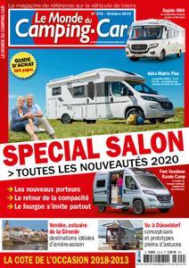 Le Monde du Camping-Car - octobre 2019