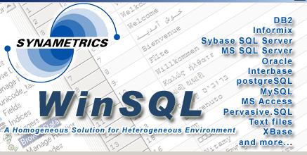 Synametrics WinSQL ver.5.5.62.571