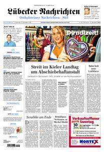 Lübecker Nachrichten Ostholstein Süd - 27. September 2018