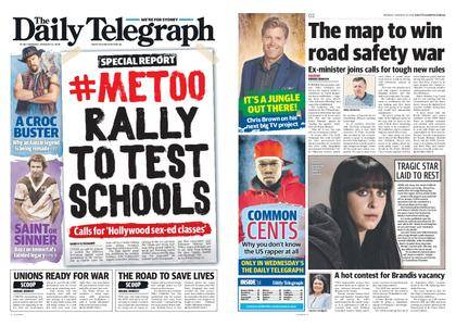 The Daily Telegraph (Sydney) – January 22, 2018