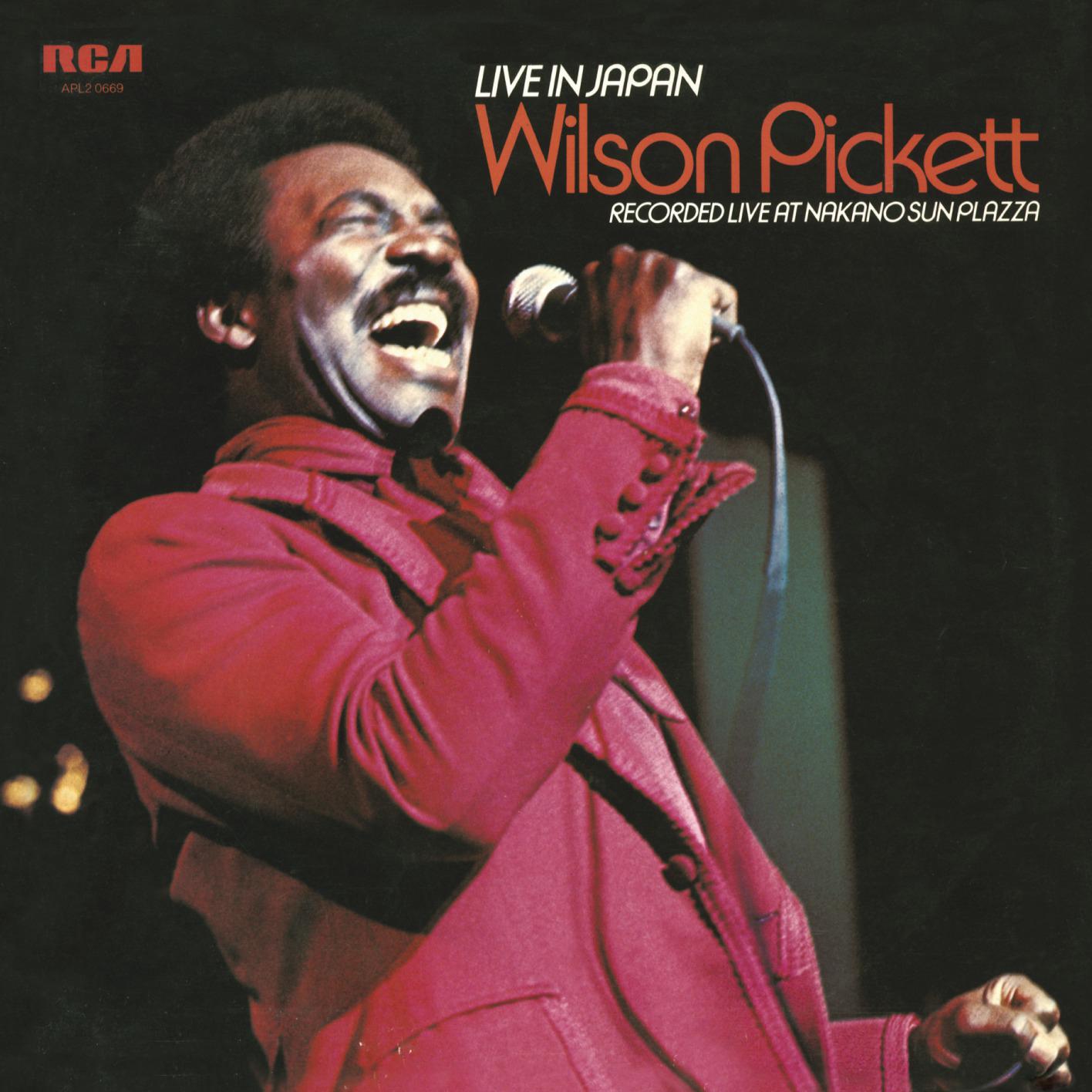 Wilson Pickett - Live In Japan (1974/2014) [Official Digital Download 24-bit/96 kHz]