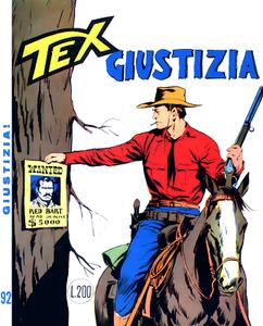 Tex N.092 - Giustizia (Araldo 1968-06)