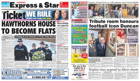 Express and Star Sandwell Edition – February 08, 2019