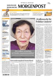 Solinger Morgenpost – 22. Januar 2020
