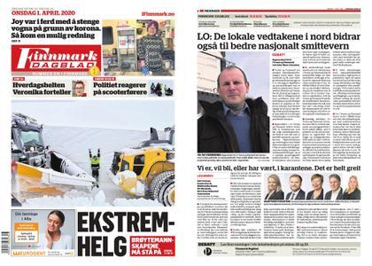 Finnmark Dagblad – 01. april 2020