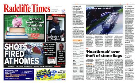 Radcliffe Times – July 18, 2019
