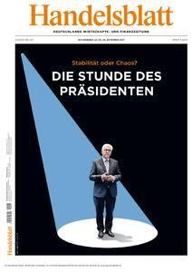 Handelsblatt - 24. November 2017