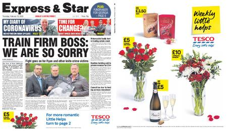 Express and Star Dudley and Wyre Forest Edition – February 13, 2020