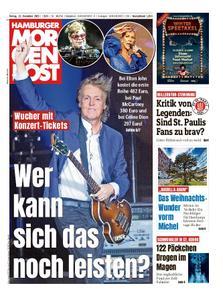 Hamburger Morgenpost – 13. Dezember 2019