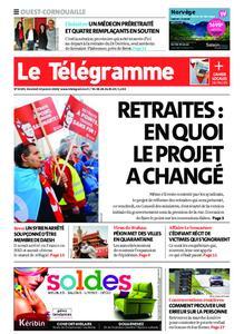 Le Télégramme Ouest Cornouaille – 24 janvier 2020