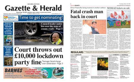 Gazette & Herald – March 18, 2021