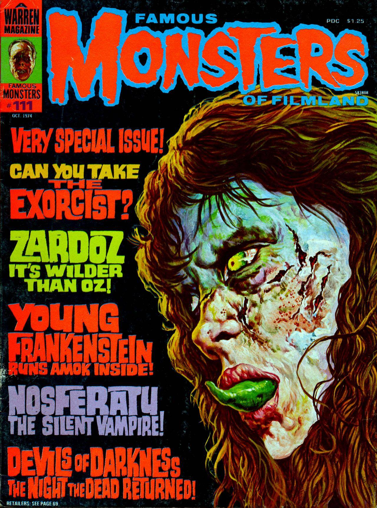 Famous Monsters of Filmland 111