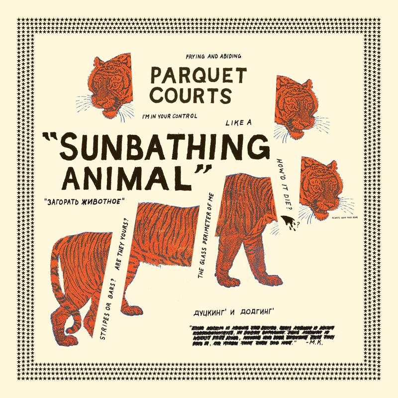 Parquet Courts - Sunbathing Animal (2014) [Official Digital Download 24bit/96kHz]