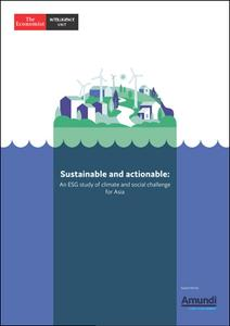 The Economist (Intelligence Unit) - Sustainable and actionable: An ESG study of climate (2020)