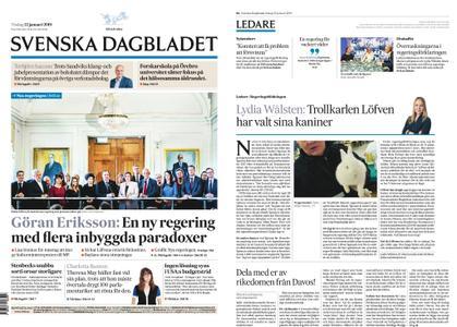 Svenska Dagbladet – 22 januari 2019