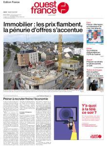 Ouest-France Édition France – 15 juin 2021