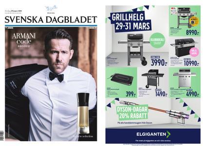 Svenska Dagbladet – 29 mars 2019