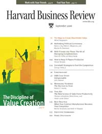 Harvard Business Review: September 2006 (proper PDF) FIXED