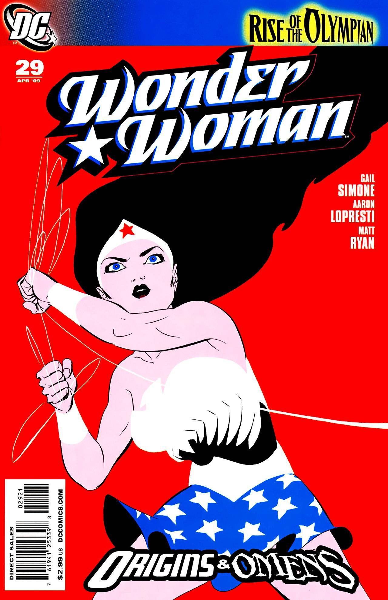 Wonder Woman 029 (2009) (Both Covers)