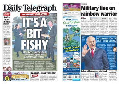 The Daily Telegraph (Sydney) – February 15, 2018