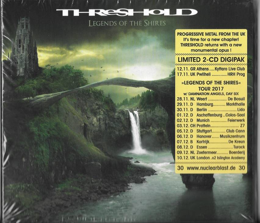 Threshold - Legends Of The Shires (Limited 2-CD Digipak) (2017)
