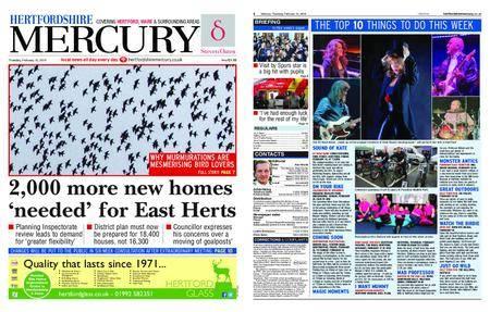 Hertfordshire Mercury – February 15, 2018