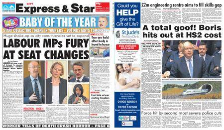 Express and Star City Edition – September 11, 2018