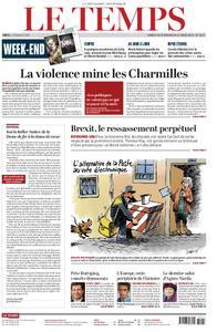 Le Temps - 30 mars 2019