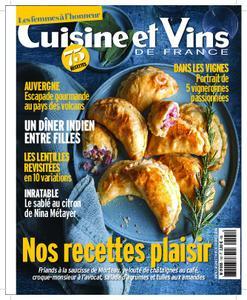 Cuisine et Vins de France – janvier 2020