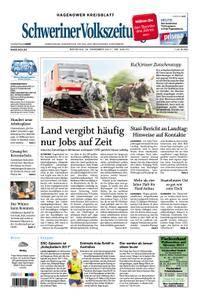 Schweriner Volkszeitung Hagenower Kreisblatt - 19. Dezember 2017