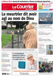 Le Courrier de l'Ouest Cholet – 16 novembre 2020