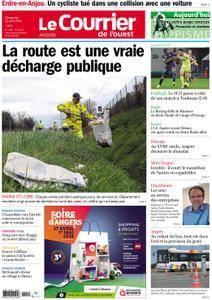 Le Courrier de l'Ouest Angers - 22 avril 2018