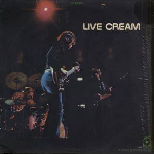 Cream - Live Cream (1970) ATCO Records/SD 33-328 - Original US Presswell Pressing - LP/FLAC In 24bit/96kHz