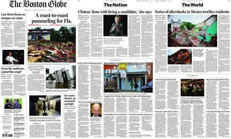 The Boston Globe – September 11, 2017