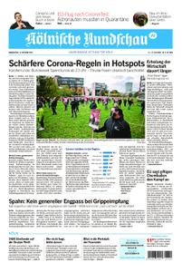Kölnische Rundschau Wipperfürth/Lindlar – 15. Oktober 2020