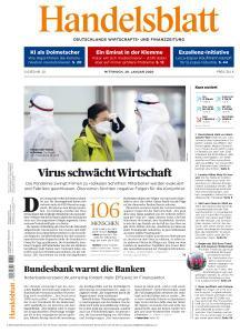 Handelsblatt - 29 Januar 2020