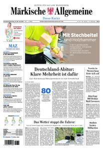 Märkische Allgemeine Dosse Kurier - 27. Juli 2019
