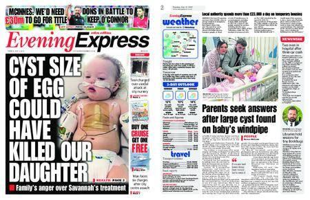 Evening Express – May 15, 2018