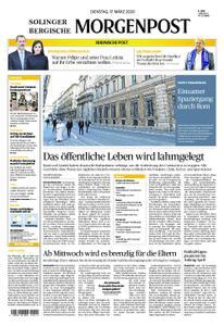 Solinger Morgenpost – 17. März 2020