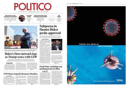 Politico – May 21, 2020