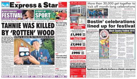 Express and Star City Edition – July 02, 2019