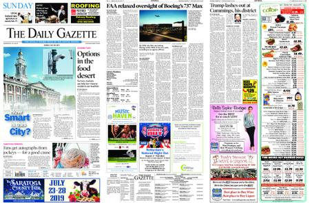 The Daily Gazette – July 28, 2019