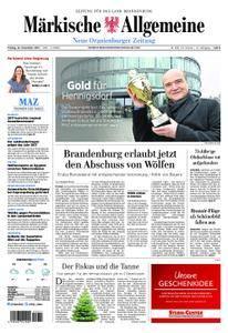 Neue Oranienburger Zeitung - 22. Dezember 2017
